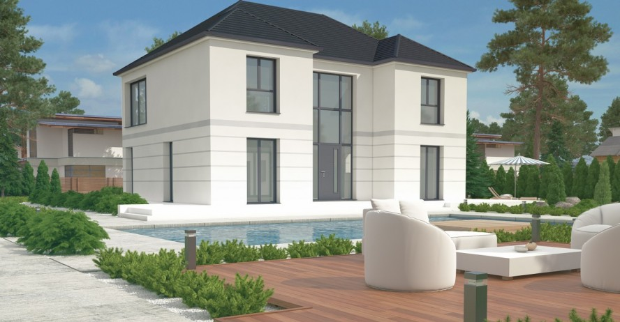 Maisons + Terrains du constructeur MA MAISON EN YVELINES • 180 m² • LAMORLAYE