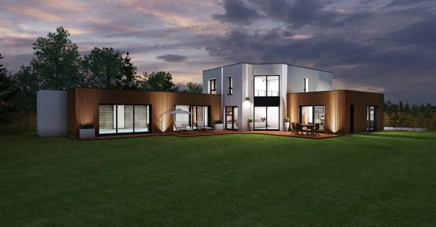 Maisons + Terrains du constructeur MA MAISON EN YVELINES • 240 m² • LAMORLAYE