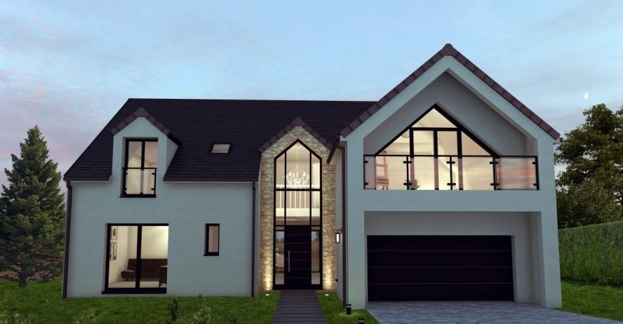 Maisons + Terrains du constructeur MA MAISON EN YVELINES • 160 m² • L'ISLE ADAM