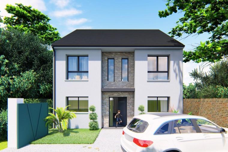 Maisons + Terrains du constructeur MA MAISON EN YVELINES • 153 m² • BESSANCOURT