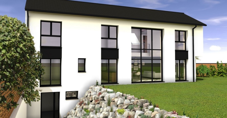 Maisons + Terrains du constructeur MA MAISON EN YVELINES • 147 m² • BESSANCOURT