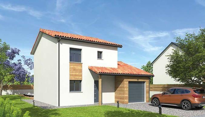 Maisons du constructeur NATILIA • 95 m² • SAINT JEAN D'ARDIERES