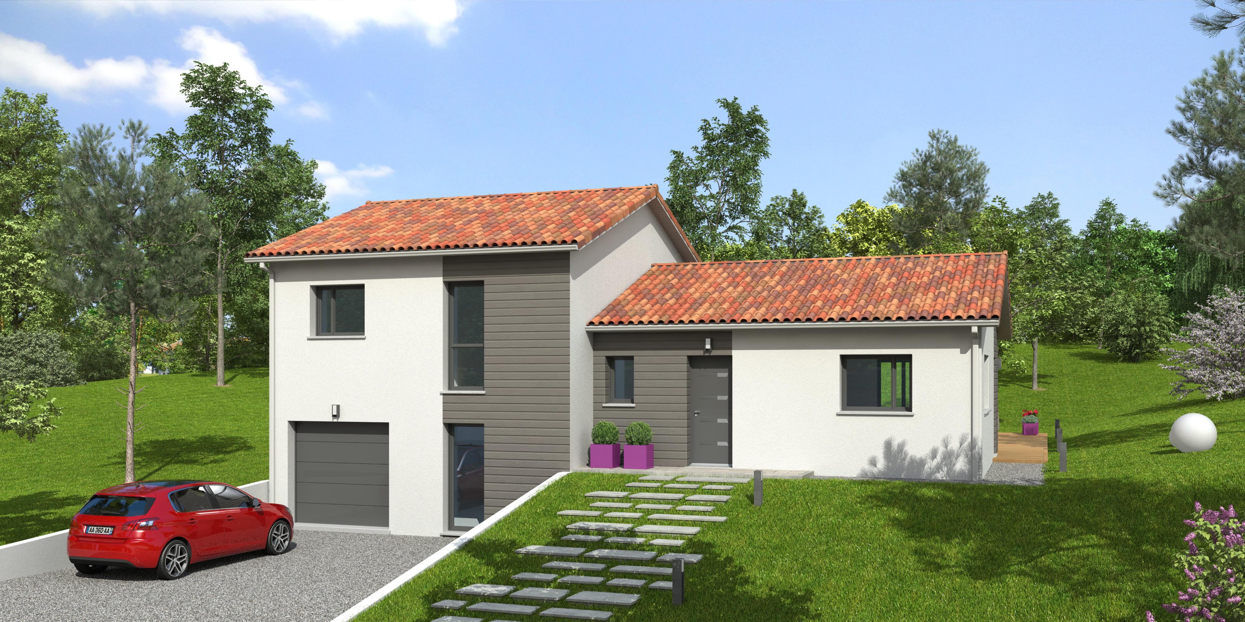 Maisons du constructeur NATILIA • 108 m² • LES ARDILLATS