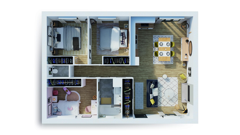Maisons du constructeur NATILIA • 110 m² • SAINT DIDIER SUR BEAUJEU