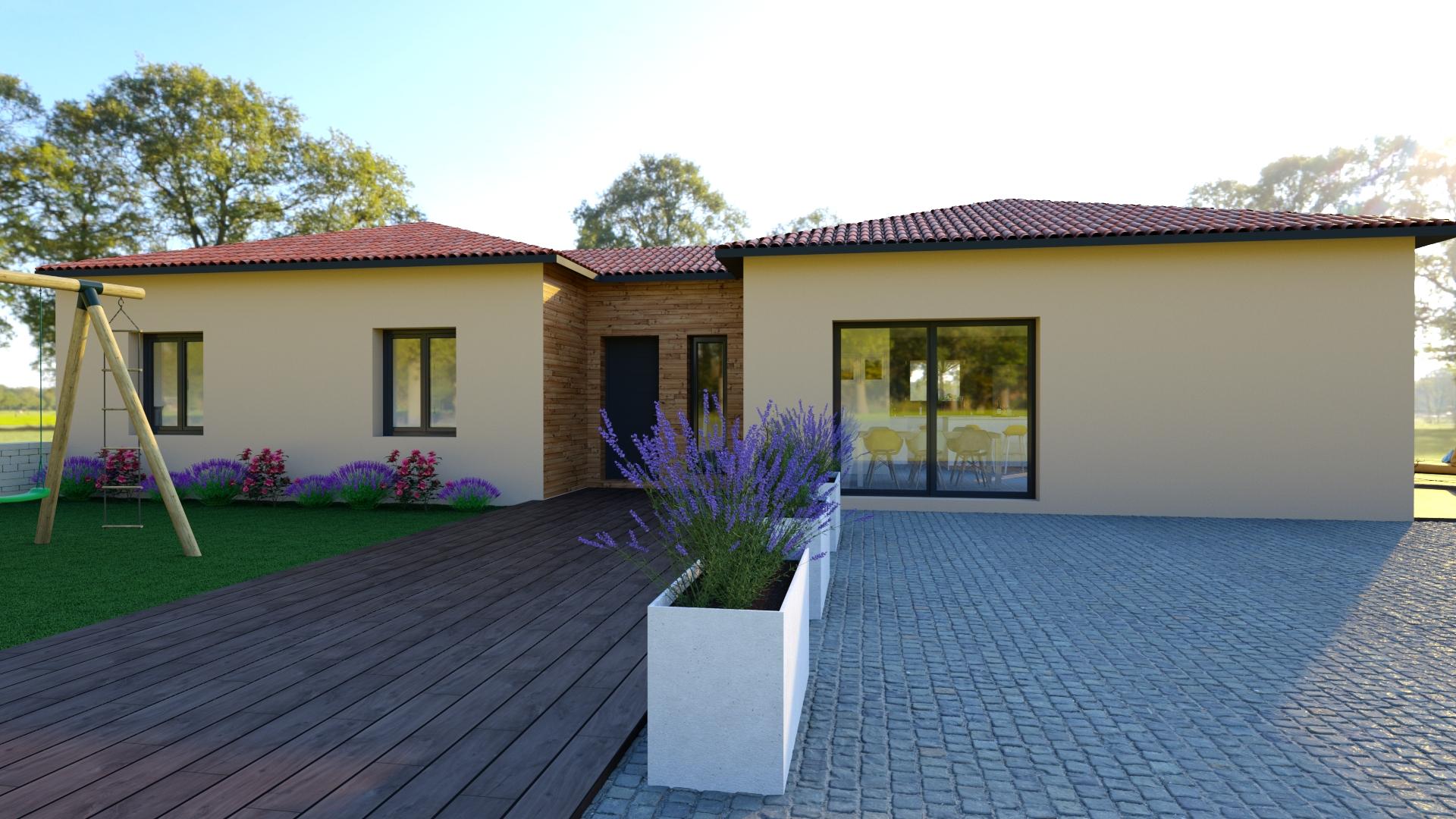 Maisons du constructeur NATILIA • 140 m² • LES ARDILLATS
