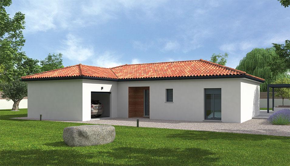 Maisons du constructeur NATILIA • 105 m² • SAINT GEORGES DE RENEINS