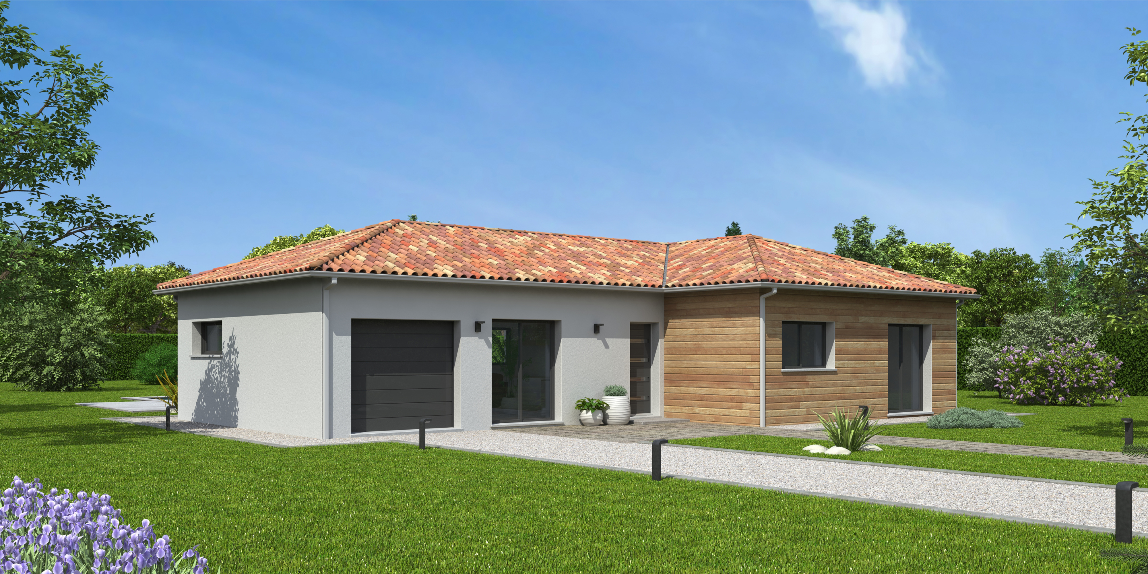 Maisons du constructeur NATILIA • 97 m² • SAINT GEORGES DE RENEINS