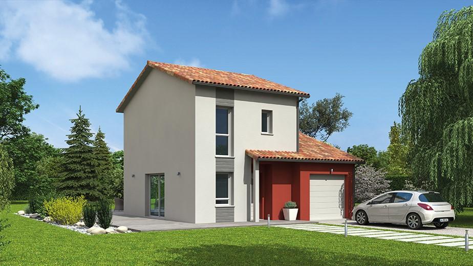 Maisons du constructeur NATILIA • 79 m² • TAPONAS