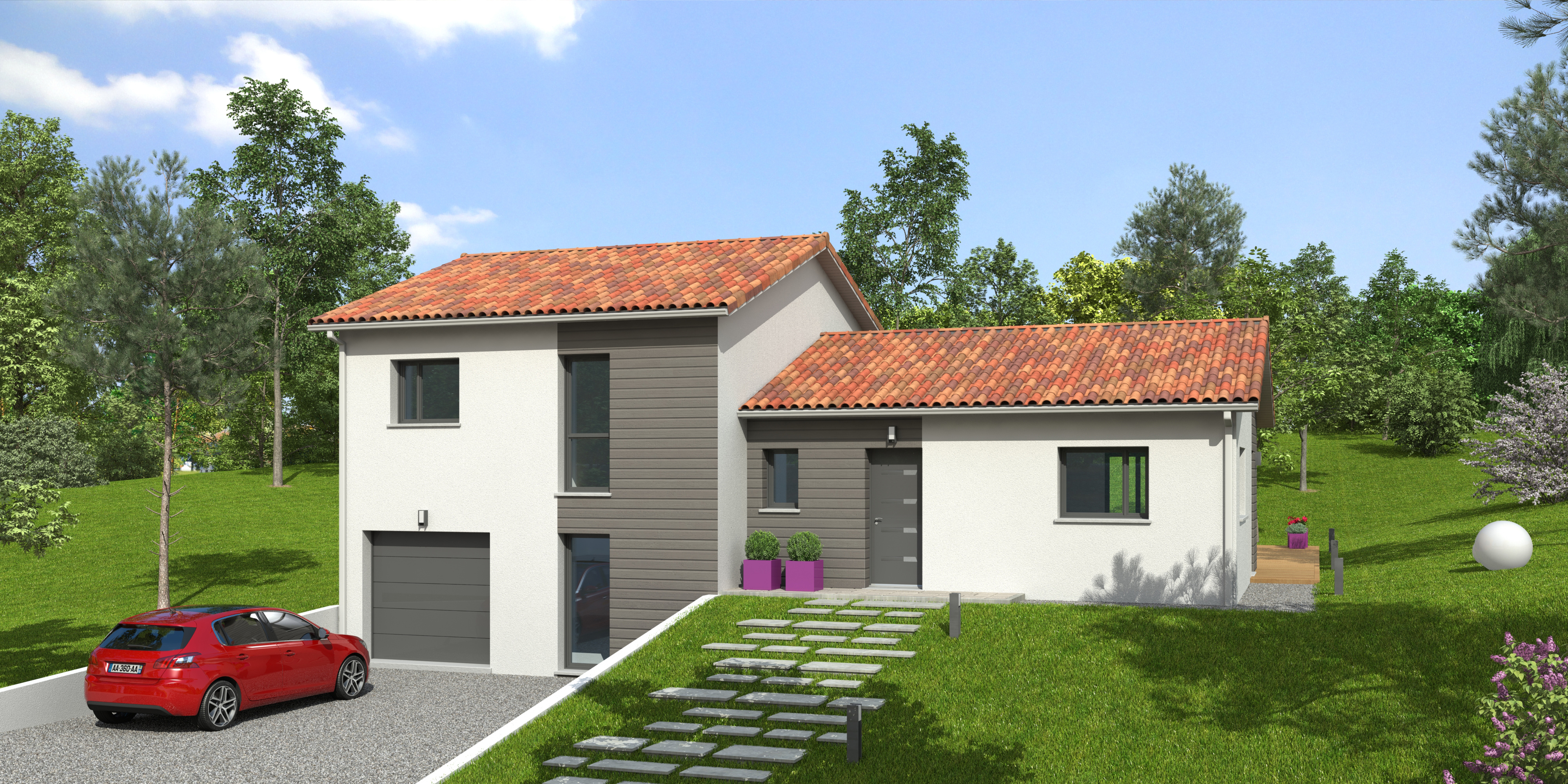 Maisons du constructeur NATILIA • 108 m² • MONSOLS