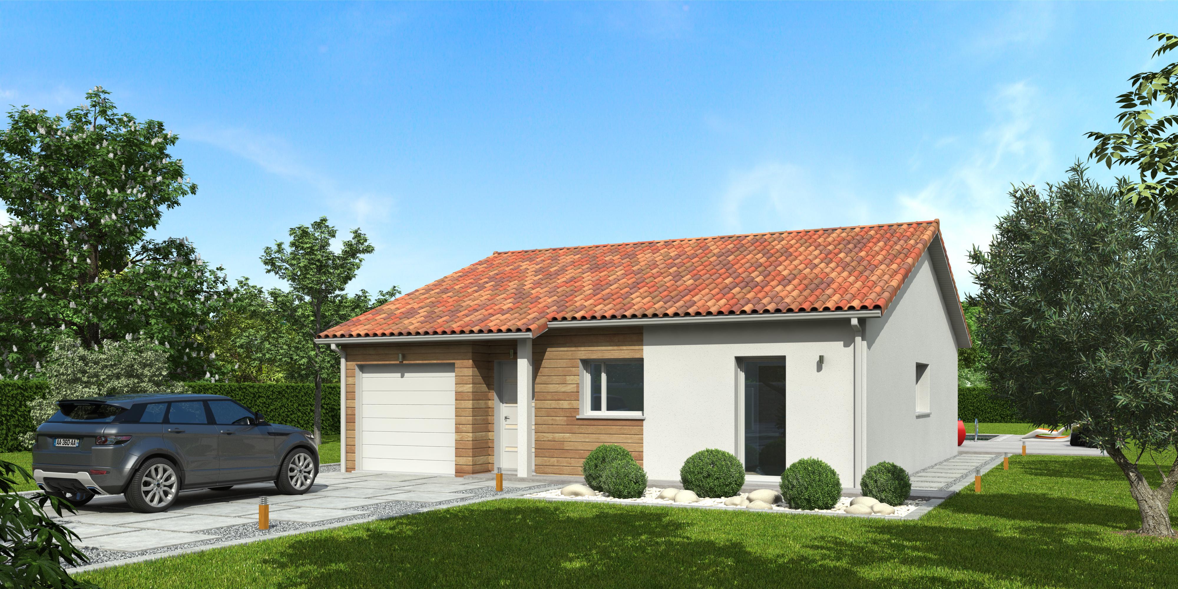 Maisons du constructeur NATILIA • 92 m² • QUINCIE EN BEAUJOLAIS
