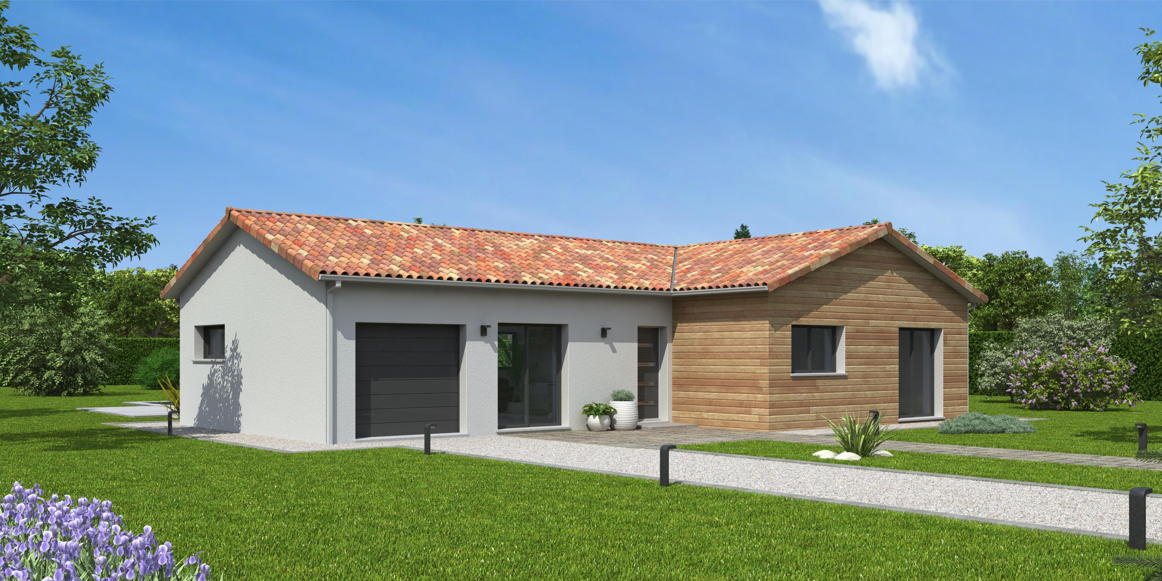Maisons du constructeur NATILIA • 97 m² • SAINT JEAN D'ARDIERES