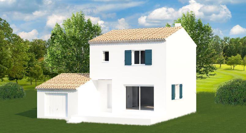 Maisons + Terrains du constructeur MAISONS MADDALENA • 82 m² • SAINT HILAIRE D'OZILHAN