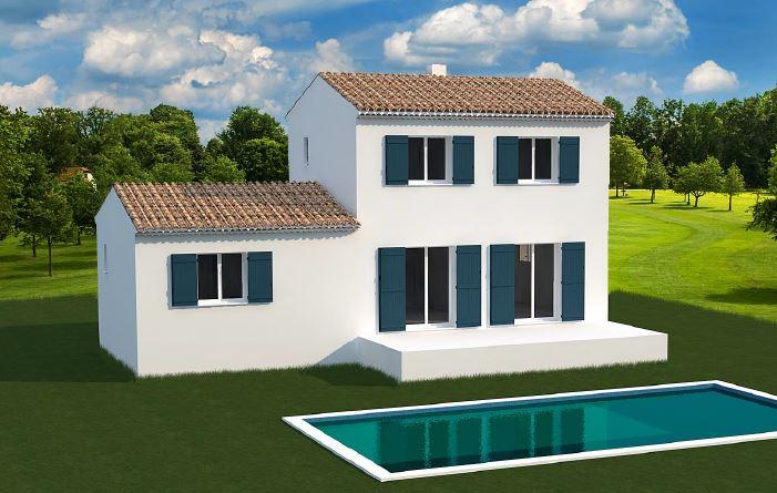 Maisons + Terrains du constructeur MAISONS MADDALENA • 82 m² • TARASCON