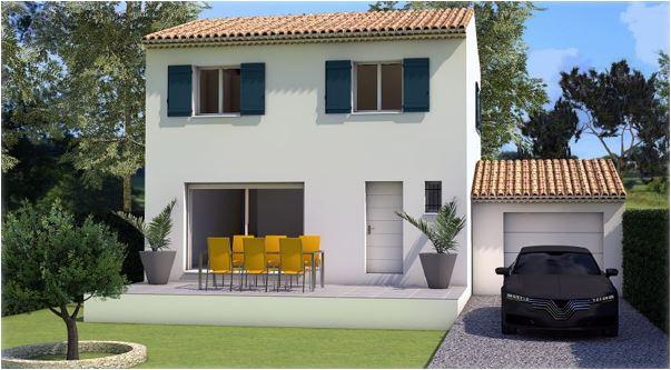 Maisons du constructeur LES MAISONS MJ • 82 m² • SAINT HILAIRE D'OZILHAN