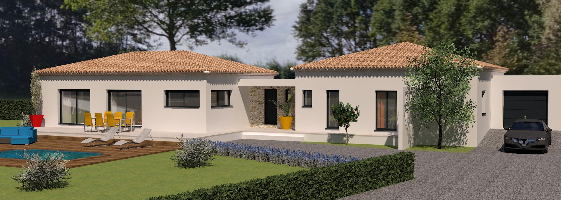 Maisons du constructeur LES MAISONS MJ • 92 m² • POULX