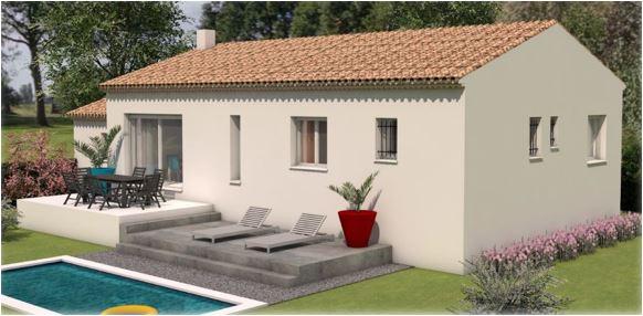 Maisons du constructeur LES MAISONS MJ • 100 m² • VALLIGUIERES