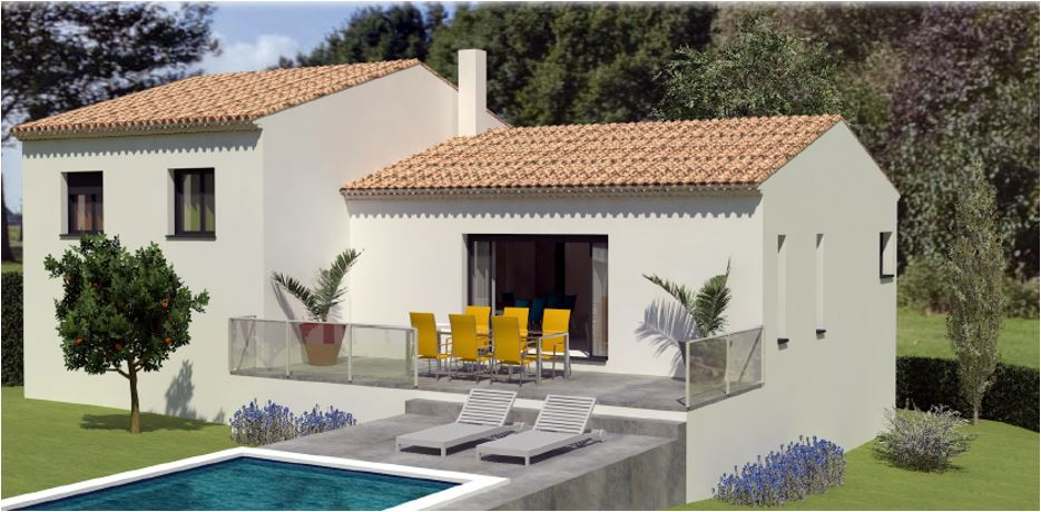 Maisons du constructeur LES MAISONS MJ • 105 m² • NIMES