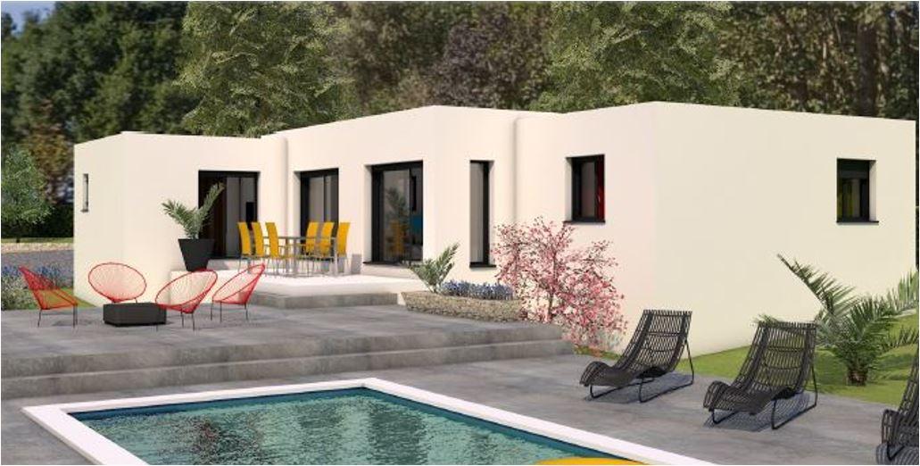 Maisons du constructeur LES MAISONS MJ • 120 m² • NIMES