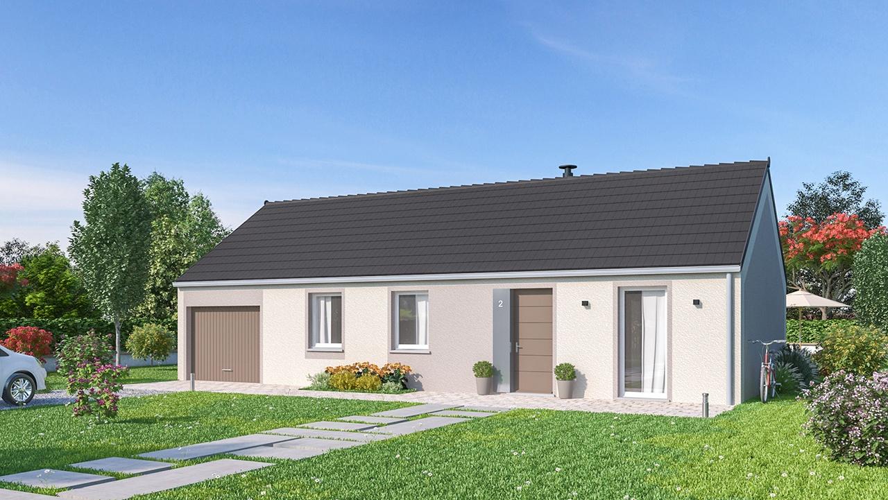 Maisons + Terrains du constructeur Maisons Phénix Saint Quentin • 76 m² • SAVY