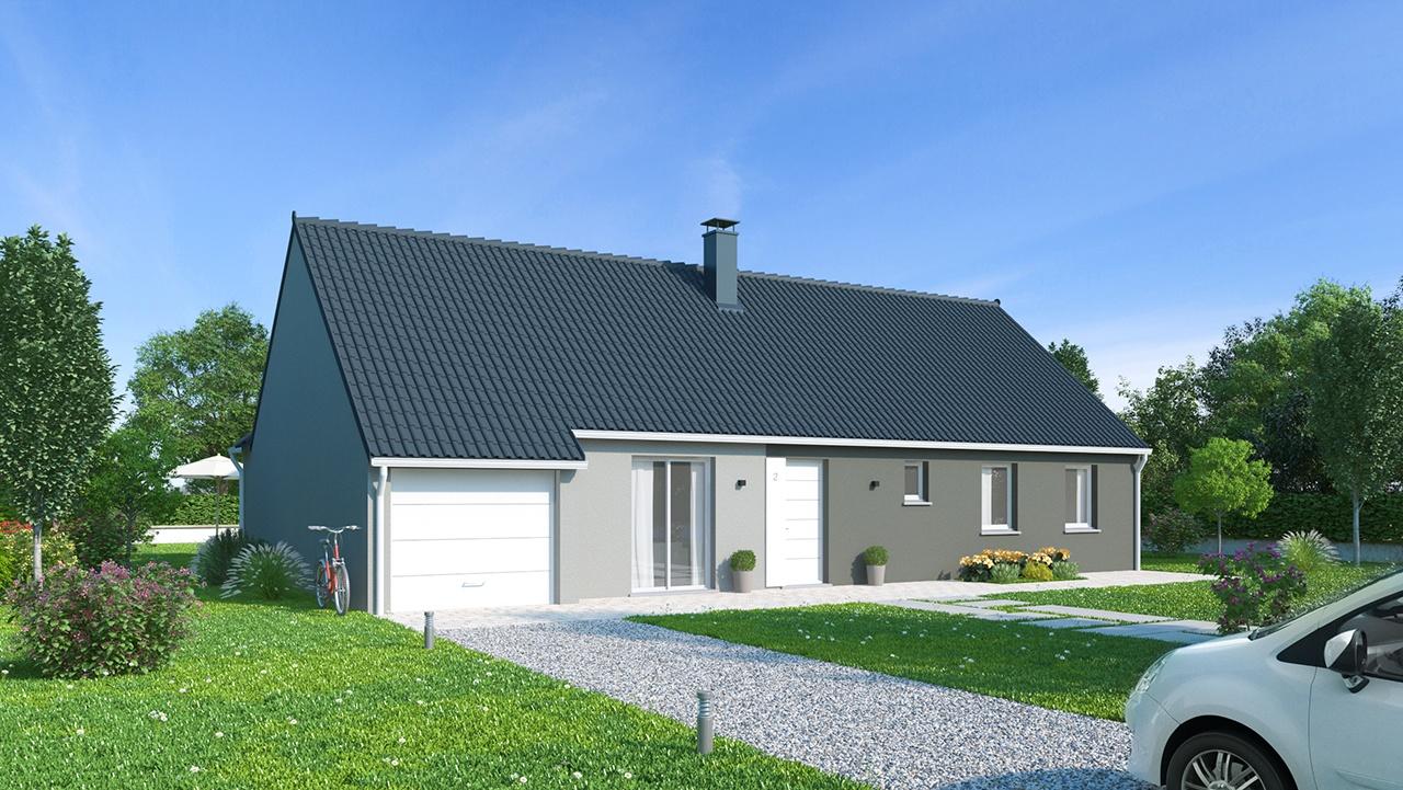 Maisons + Terrains du constructeur Maisons Phénix Saint Quentin • 124 m² • SAINT QUENTIN
