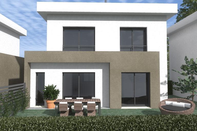Maisons du constructeur ESQUISS 38 • 90 m² • SILLANS