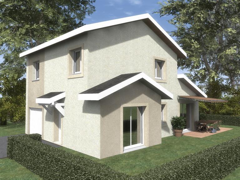 Maisons du constructeur ESQUISS 38 • 90 m² • COUBLEVIE
