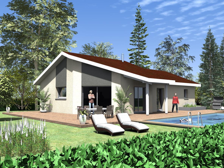 Maisons du constructeur ESQUISS 38 • 91 m² • COLOMBE