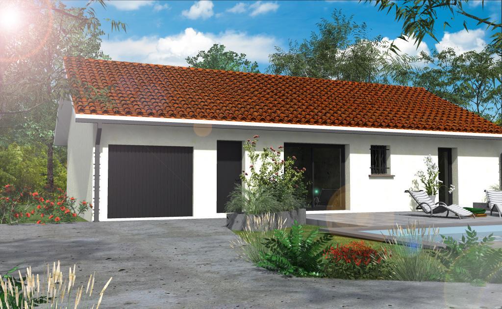 Maisons du constructeur ESQUISS 38 • 95 m² • BEAUREPAIRE