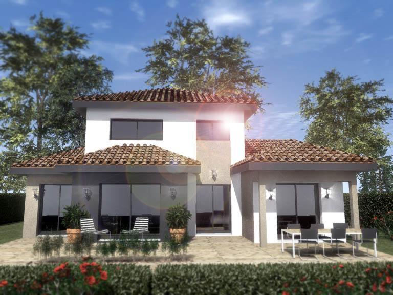 Maisons du constructeur ESQUISS 38 • 110 m² • SAINT PIERRE DE BRESSIEUX