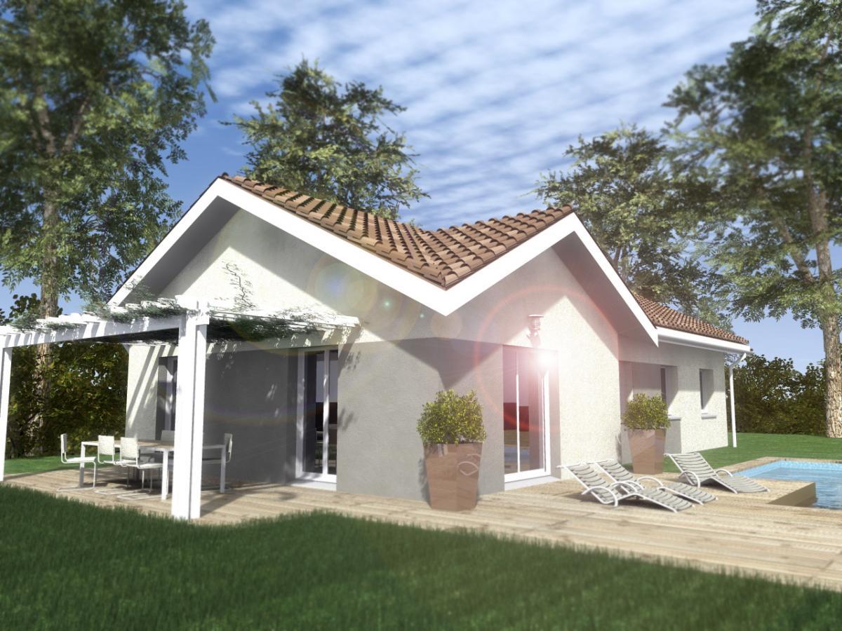Maisons du constructeur ESQUISS 38 • 91 m² • BIZONNES