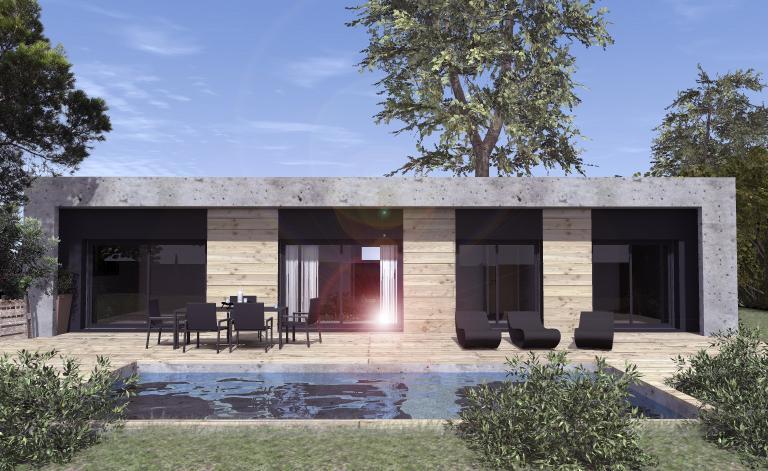 Maisons du constructeur ESQUISS 38 • 115 m² • VIRIVILLE