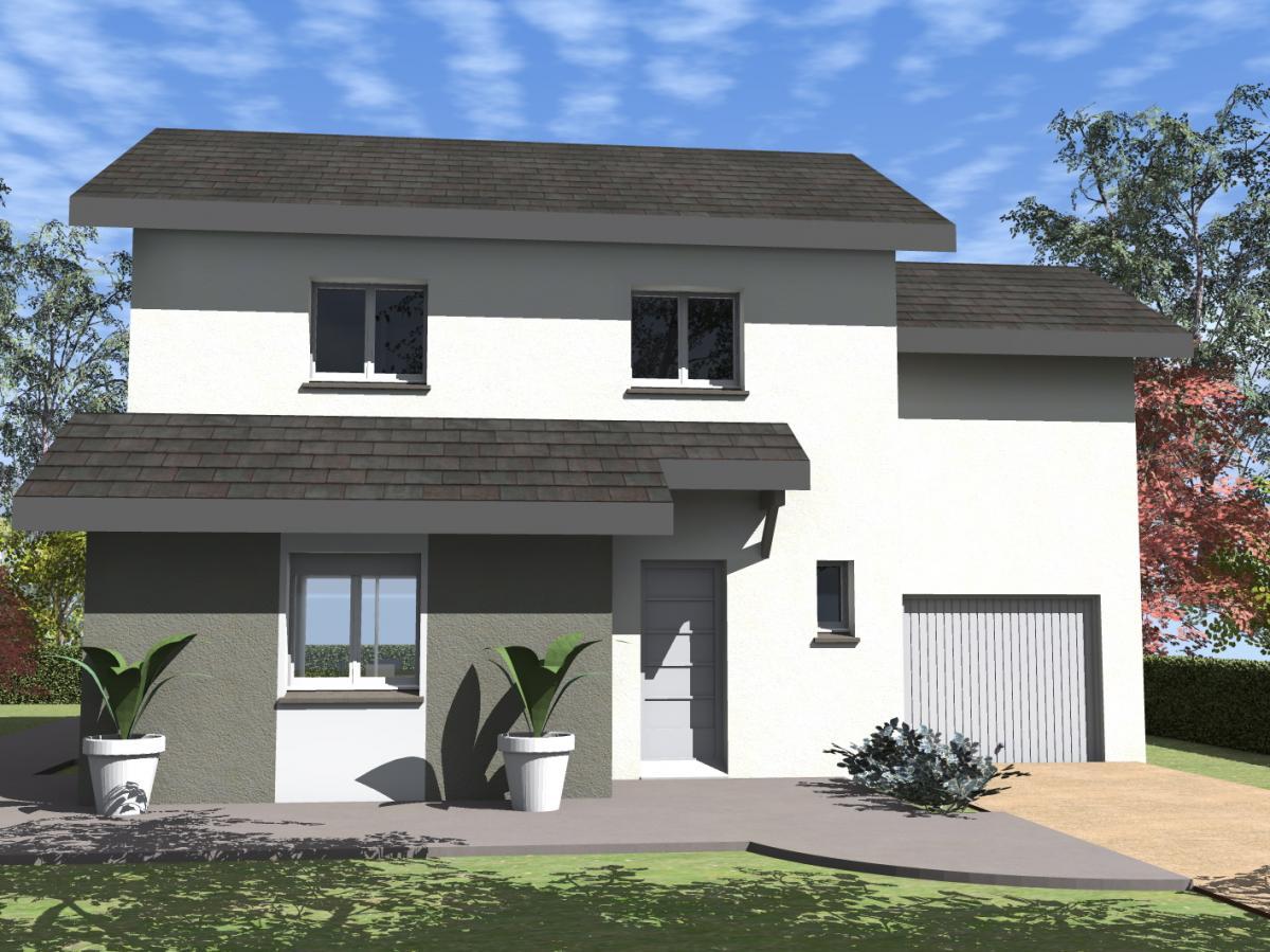 Maisons du constructeur ESQUISS 38 • 96 m² • IZEAUX