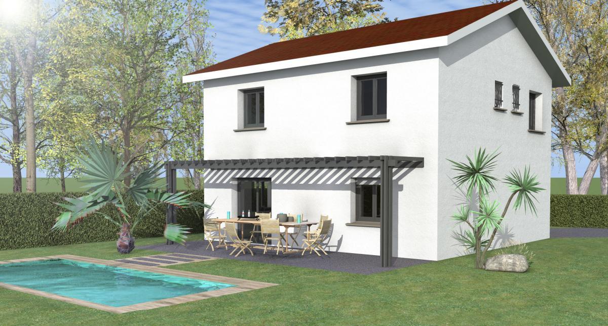 Maisons du constructeur ESQUISS 38 • 95 m² • VIF