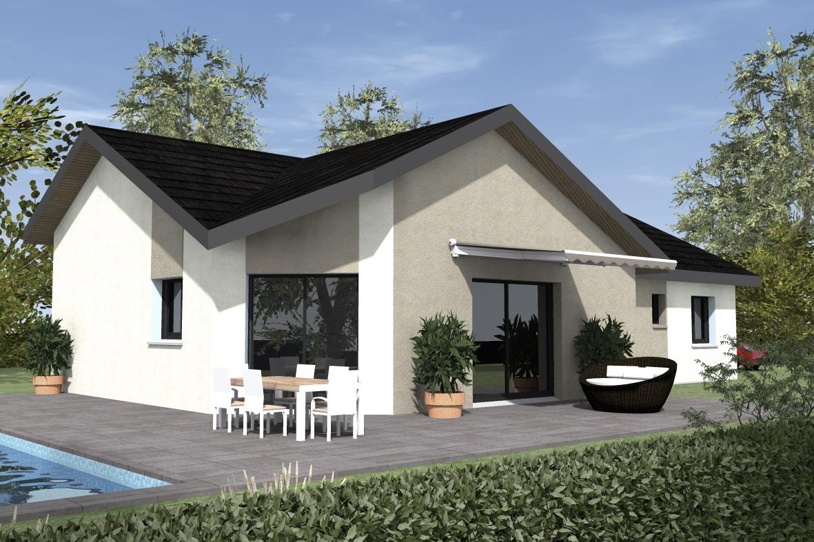 Maisons du constructeur ESQUISS 38 • 104 m² • SAINT LAURENT DU PONT