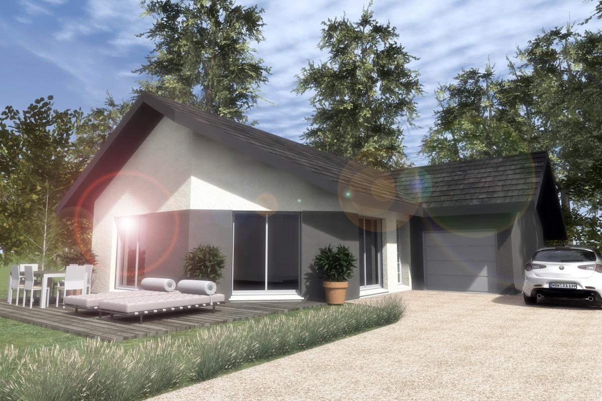 Maisons du constructeur ESQUISS 38 • 90 m² • SAINT PIERRE DE BRESSIEUX