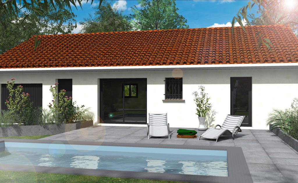 Maisons du constructeur ESQUISS 38 • 91 m² • GILLONNAY