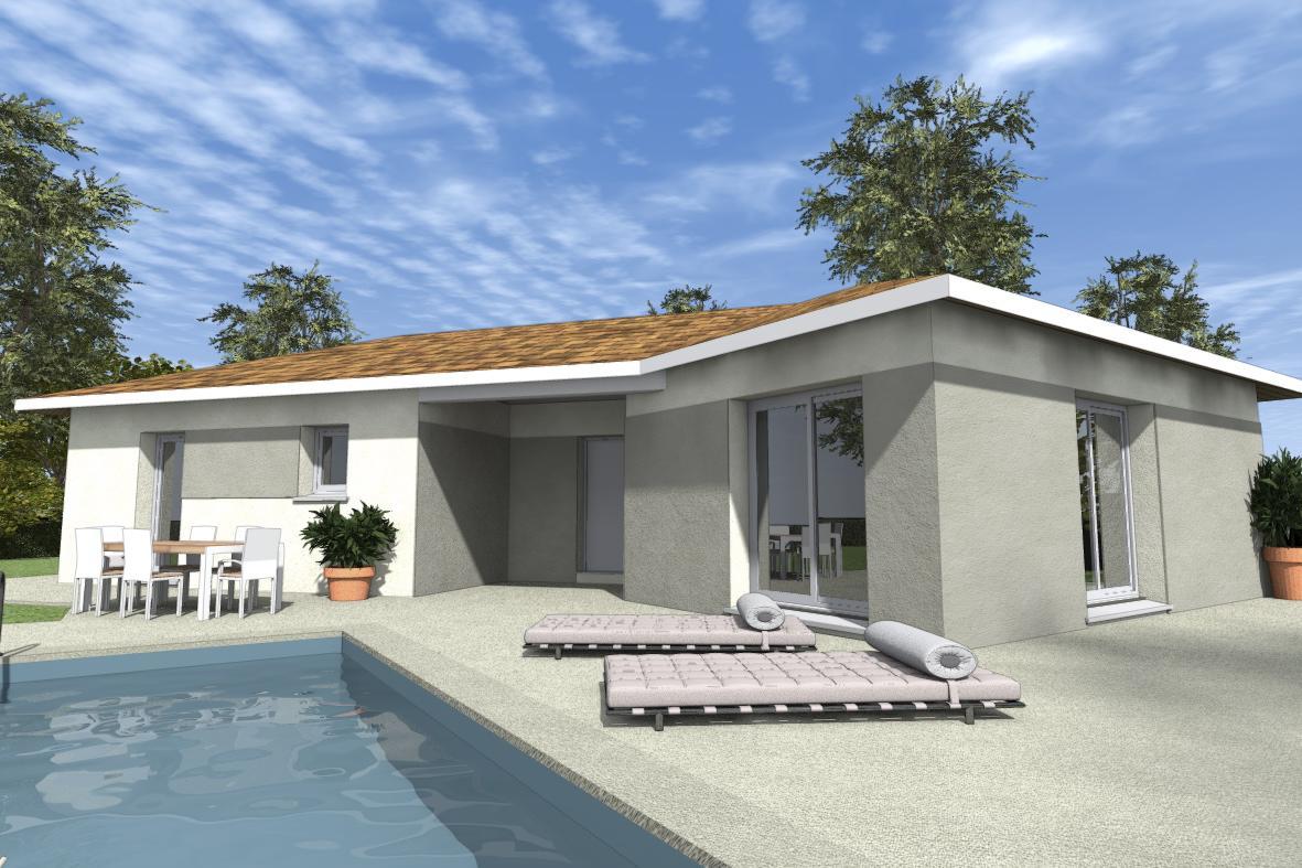 Maisons du constructeur ESQUISS 38 • 105 m² • BURCIN