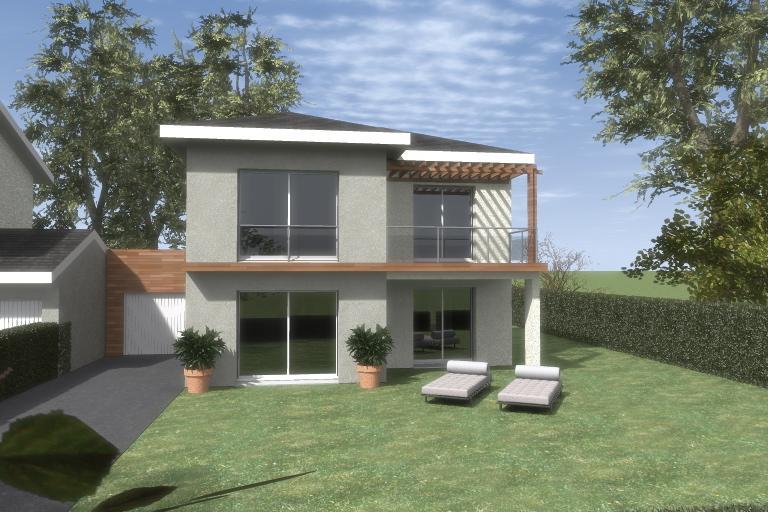 Maisons du constructeur ESQUISS 38 • 90 m² • SAINT JEAN DE MOIRANS