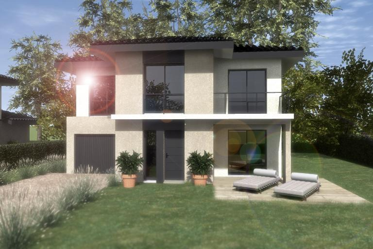 Maisons du constructeur ESQUISS 38 • 100 m² • GILLONNAY