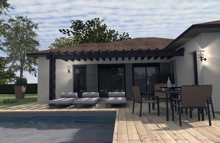 Maisons du constructeur ESQUISS 38 •  m² • SAINT ETIENNE DE SAINT GEOIRS