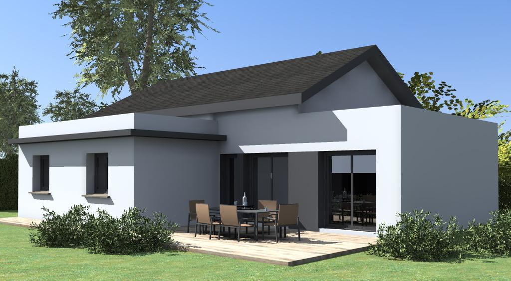 Maisons du constructeur ESQUISS 38 • 100 m² • IZERON
