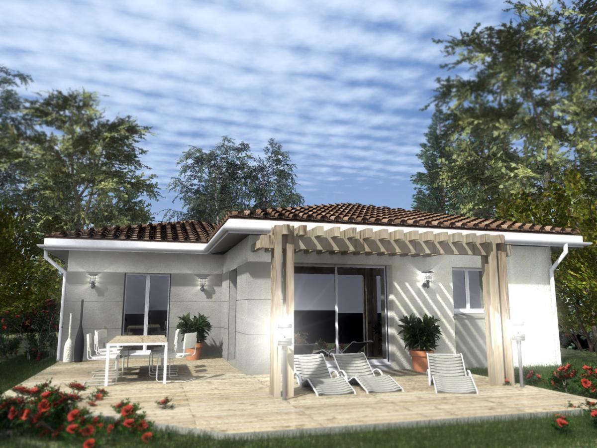Maisons du constructeur ESQUISS 38 •  m² • BEVENAIS