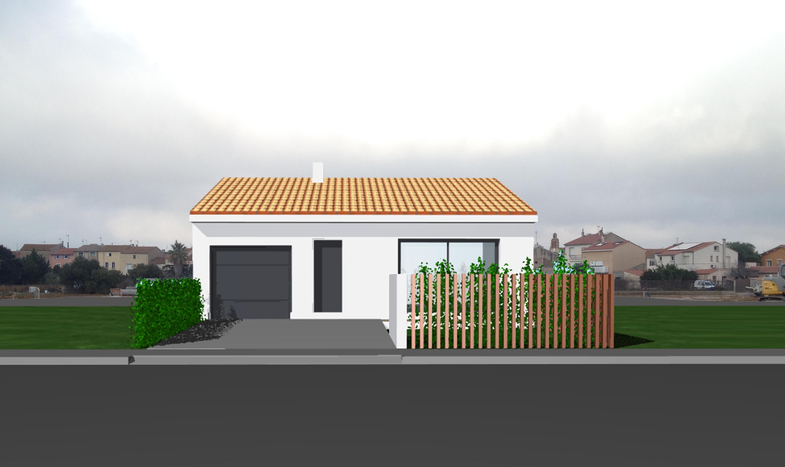 Maisons + Terrains du constructeur POLLESTRES HOME CONSTRUCTION • 66 m² • PEYRESTORTES