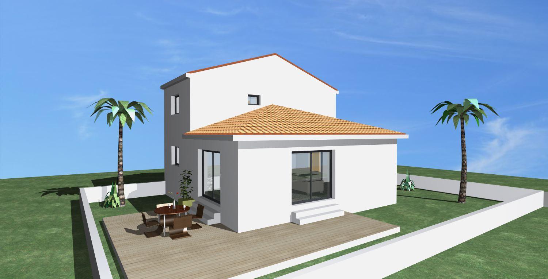 Maisons + Terrains du constructeur POLLESTRES HOME CONSTRUCTION • 90 m² • PEYRESTORTES
