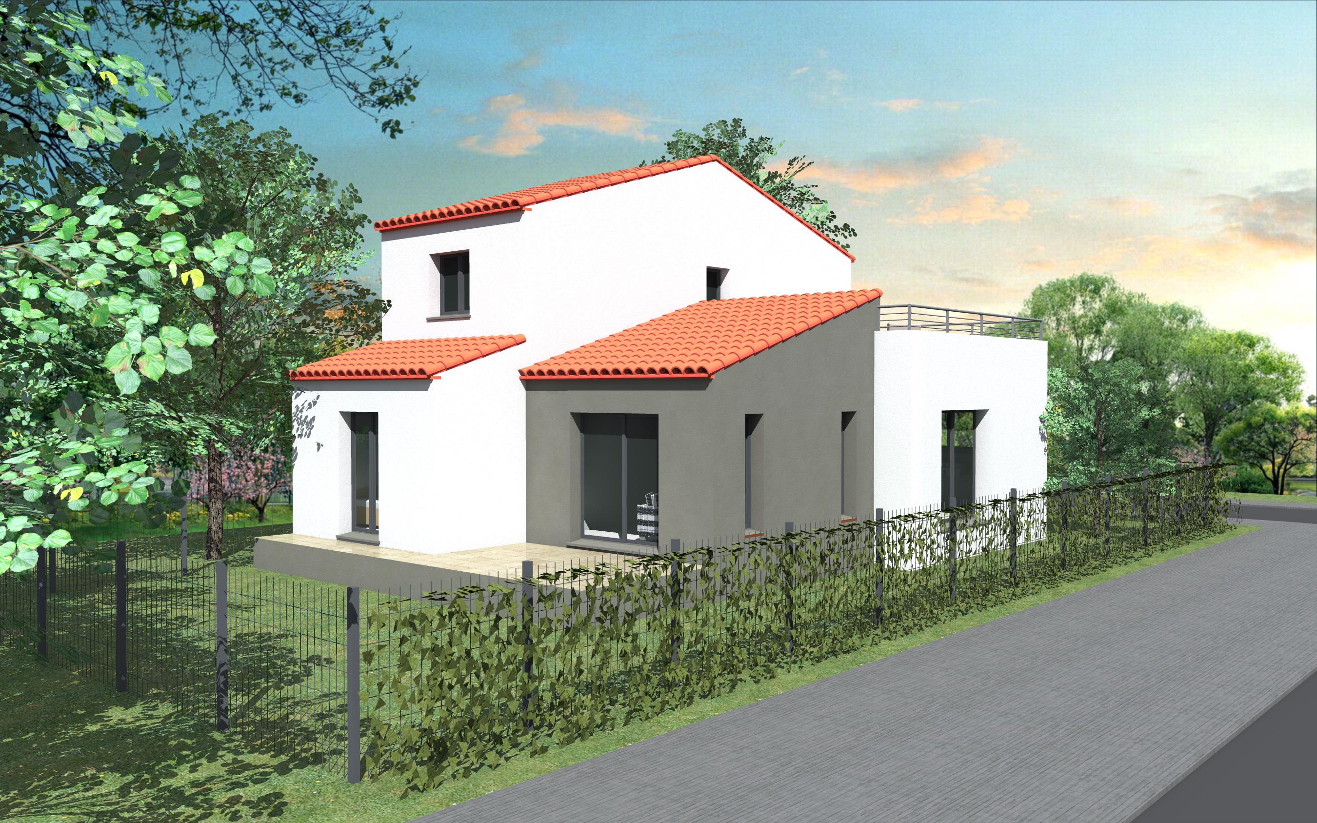 Maisons + Terrains du constructeur POLLESTRES HOME CONSTRUCTION • 95 m² • POLLESTRES