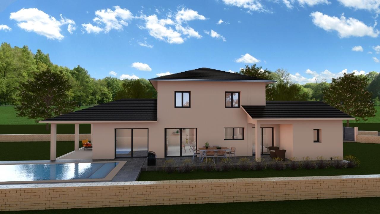 Maisons + Terrains du constructeur Demeures Caladoises • 147 m² • COUBLEVIE