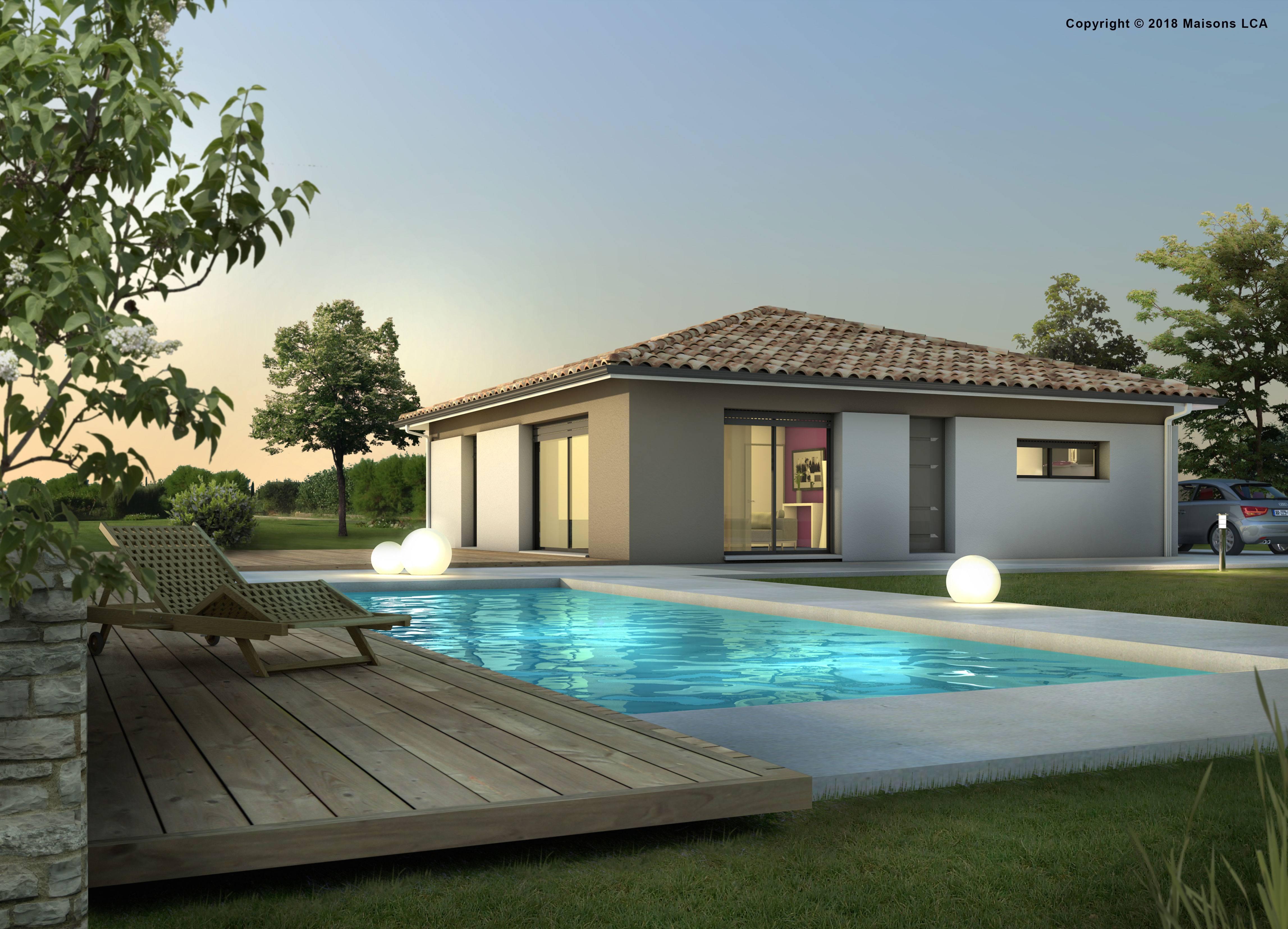 Maisons + Terrains du constructeur LCA LANGON • 90 m² • COCUMONT