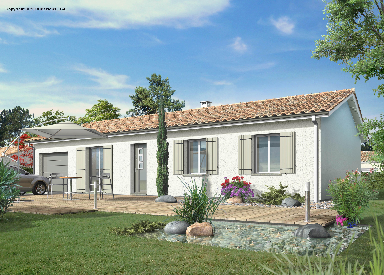 Maisons + Terrains du constructeur LCA LANGON • 89 m² • AUROS