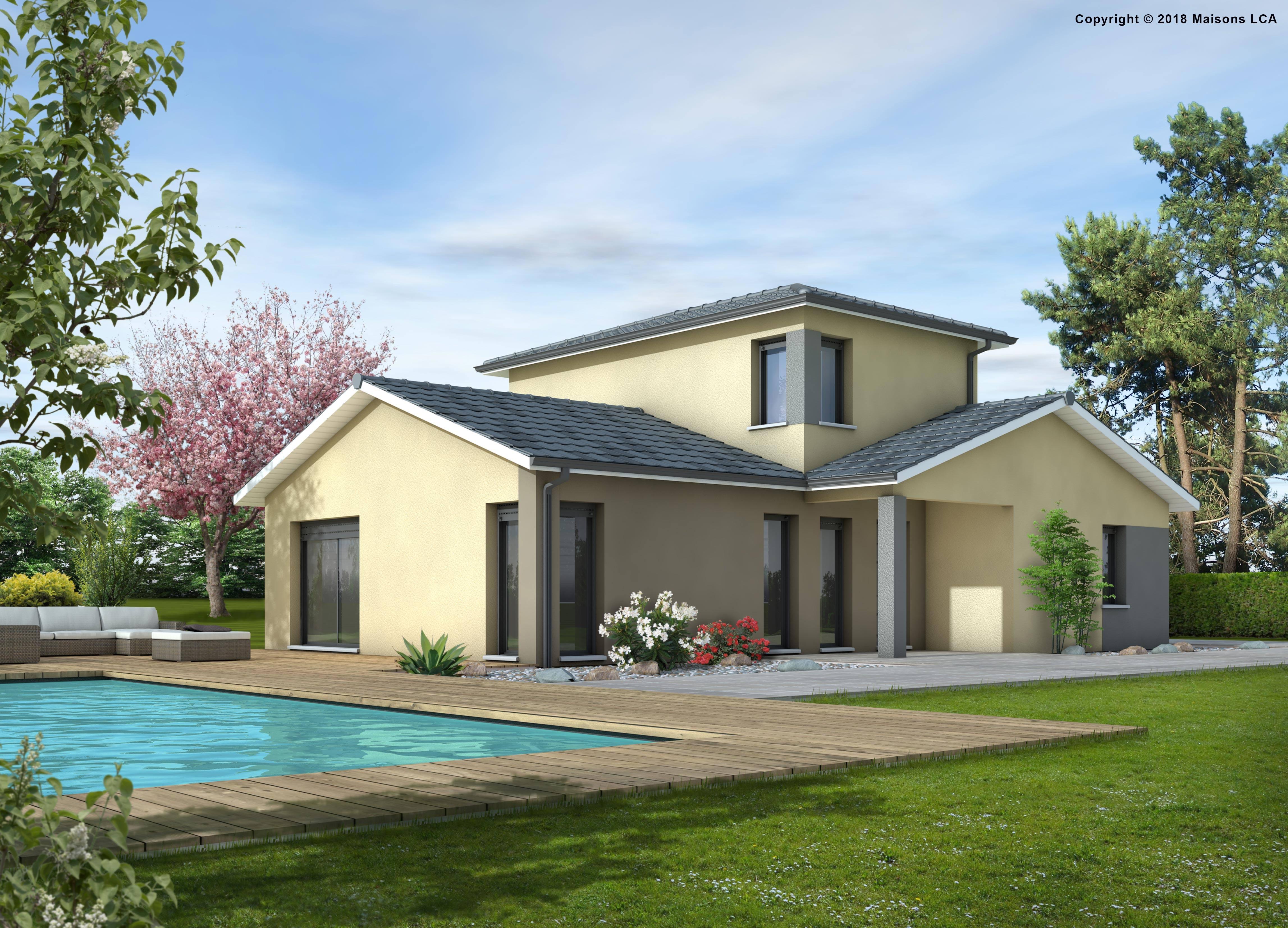 Maisons + Terrains du constructeur LCA CREON • 118 m² • SABLONS