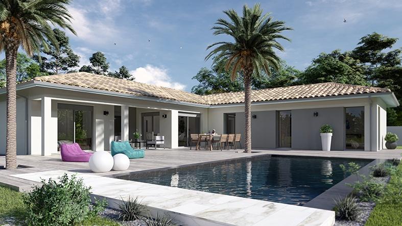 Maisons + Terrains du constructeur LCA CREON • 114 m² • GENISSAC